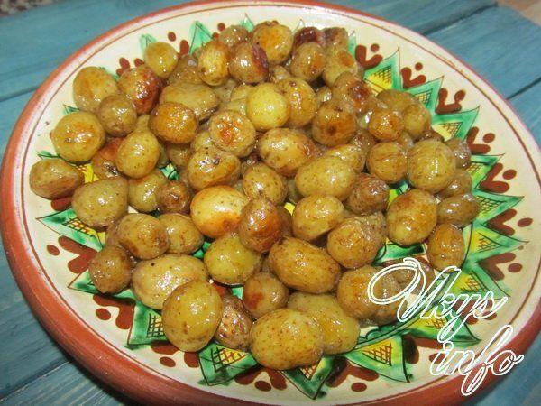 как вкусно приготовить молодую мелкую картошку