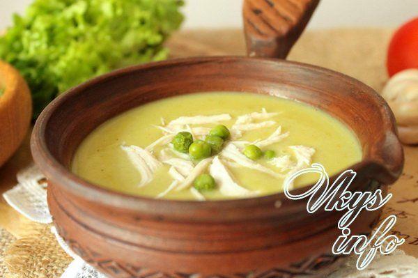 Суп пюре рецепты приготовления с фото