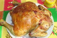 Курица в горчице и меде в духовке рецепт