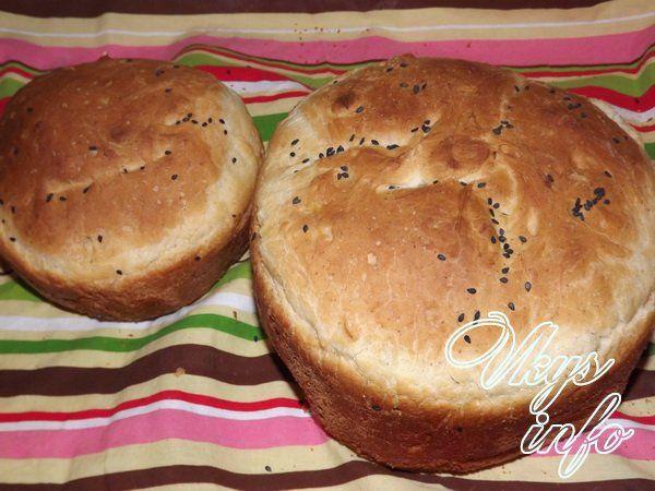 Рецепт: Простой домашний хлеб - все рецепты России 74