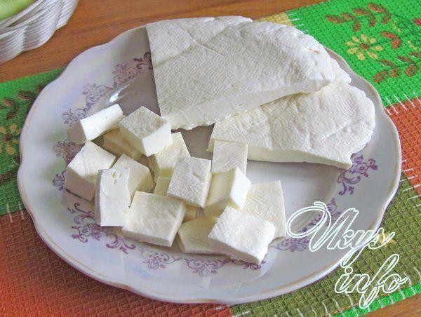 Сыр из кефира домашний 98
