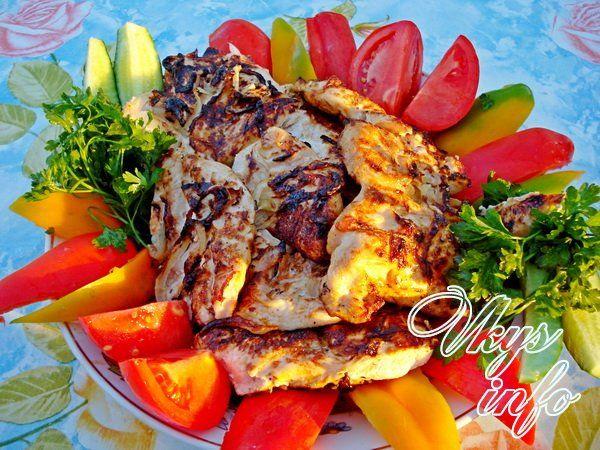 shashlyk iz kuricy v majoneze