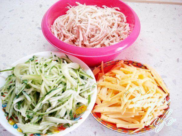 рецепт салата с корейской морковкой и свеклой