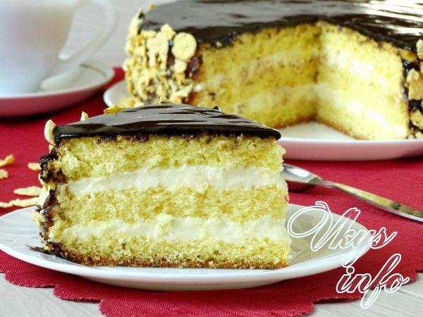 торт чародейка рецепт с видео