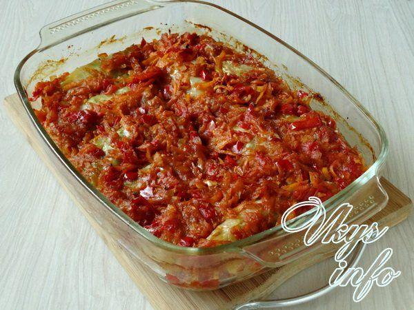 Рецепт голубцов с фаршем и рисом пошагово в 69