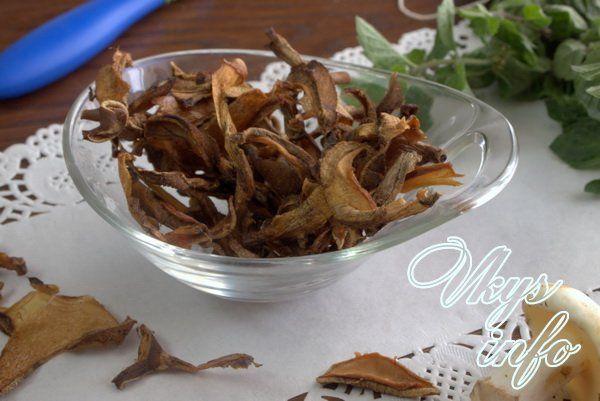рецепт Как сушить маслята в домашних условиях