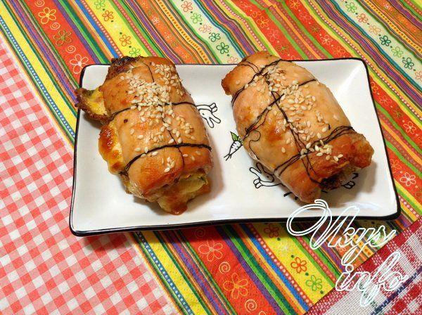 rulet s omletom i syrom foto 11