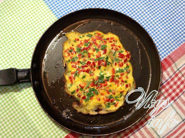 rulet s omletom i syrom foto 8