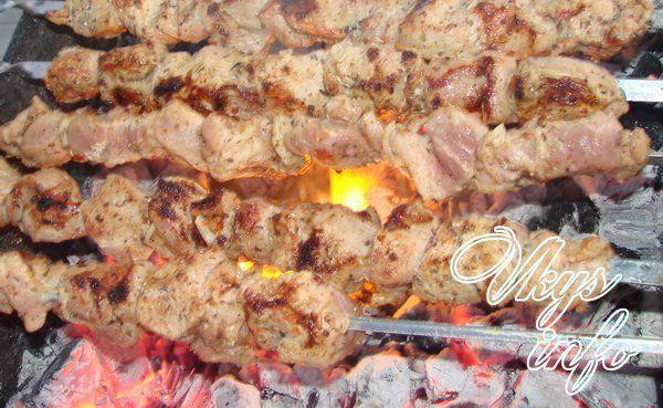 Шашлык из свинины с уксусом – 2 рецепта с фото