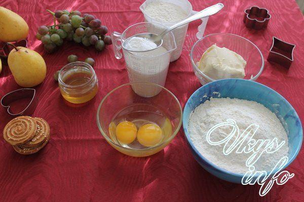 Торт Рыжик с заварным кремом фото ингредиенты