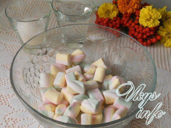 Рецепт мастики из маршмеллоу ингредиенты
