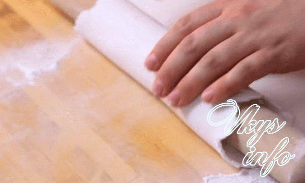 как раскатывать мастику