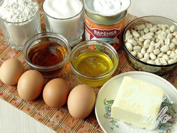 Торт «Мужской идеал» фото ингредиенты