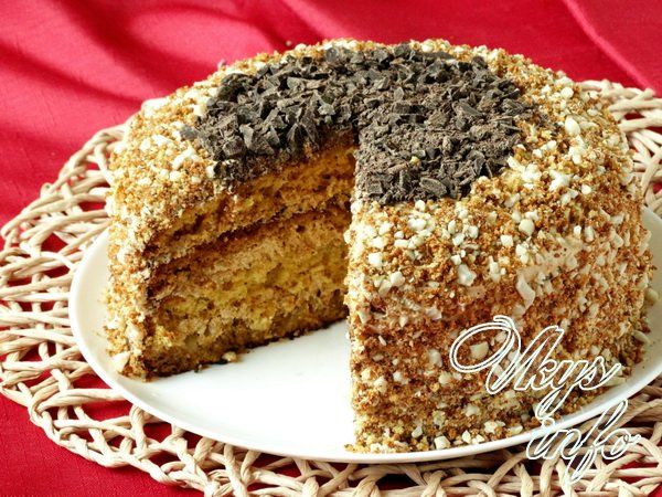 торт для мужа рецепт с фото пошагово