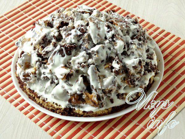 Торт ванька кучерявый рецепт с фото в домашних условиях 783