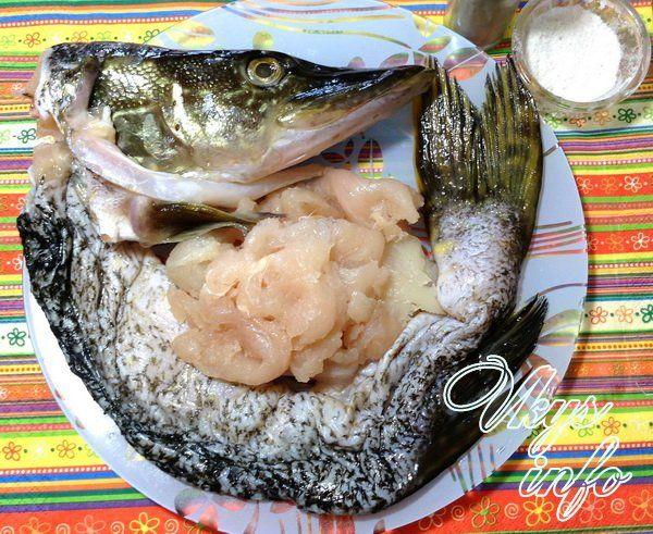 щука в духовке рецепты с фото пошаговый