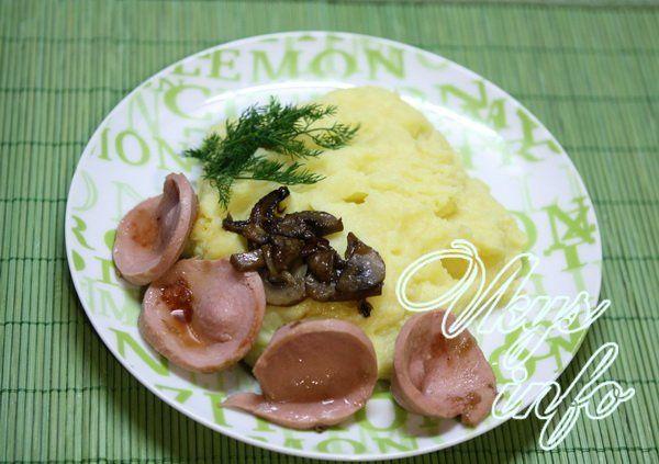 пюре картофельное с яйцом и молоком рецепт с фото
