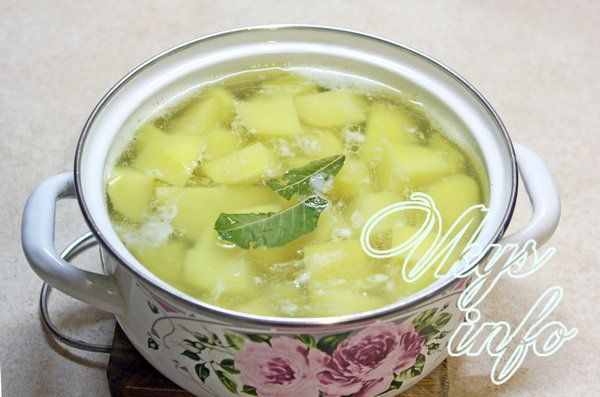 как приготовить картофельное пюре на воде