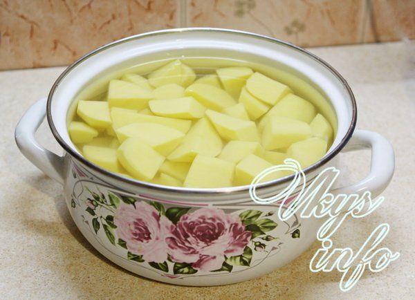Картофельное пюре без молока