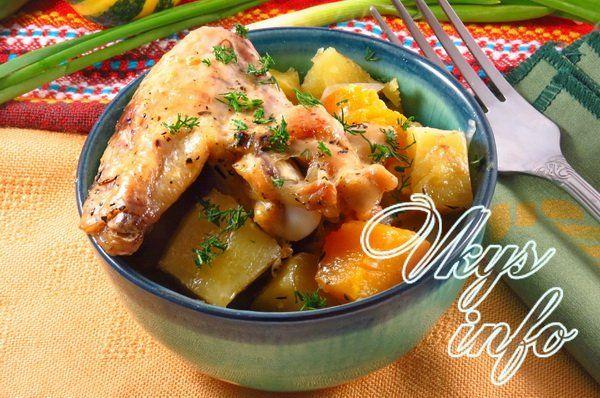 Тыква с картошкой рецепты приготовления