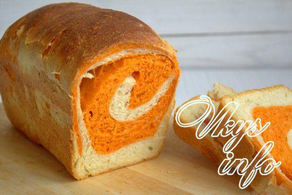 Рецепт томатного хлеба в хлебопечке