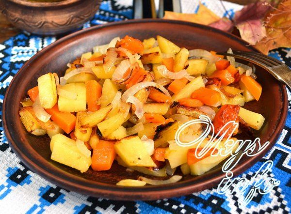 жареное мясо с картошкой на сковороде рецепт с фото