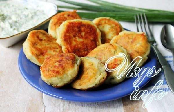 картофельные котлеты рецепт с фото с соусом