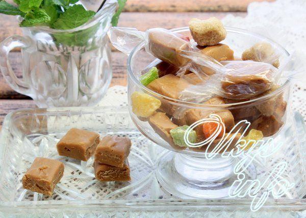 Ириски в домашних условиях: домашние конфеты рецепт с фото 90