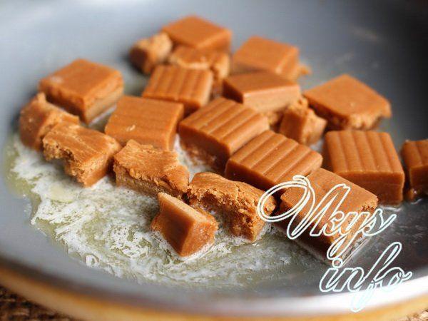 Ириски в домашних условиях: домашние конфеты рецепт с фото 16