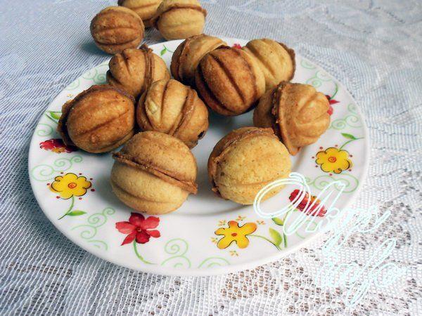 сладкие орешки со сгущенкой рецепт как в детстве со сгущенкой