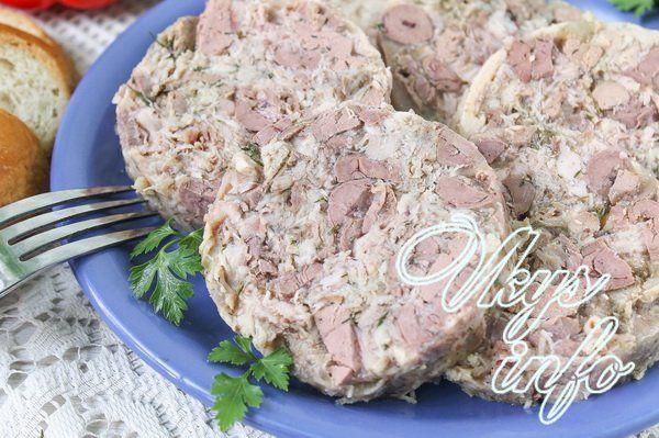 Куриная ветчина духовке рецепт с фото
