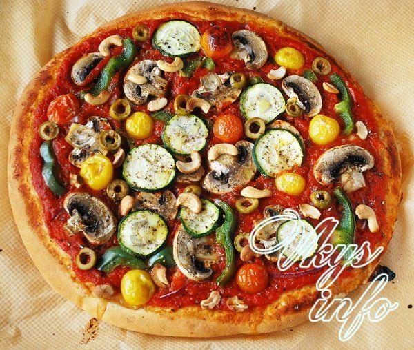 Как из готового теста сделать пиццу