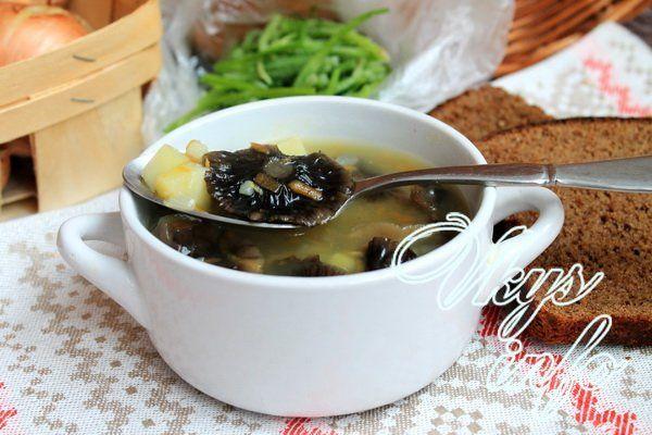 суп из зимних опят рецепт