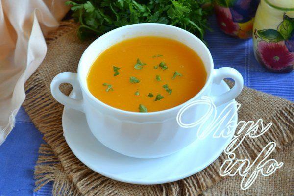 рецепт суп пюре диетические рецепты