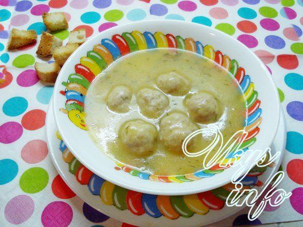 суп пюре из овощной с мясом рецепт