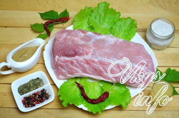 как запечь свинину в пакете в духовке рецепт