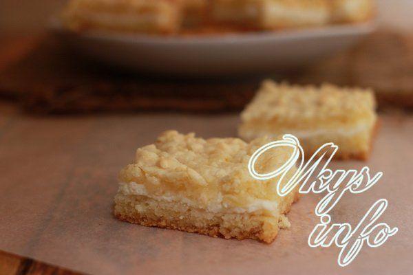 Творожный пирог тертый рецепты с фото простые