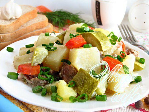 Рецепт рагу с мясом и картошкой в казане рецепт