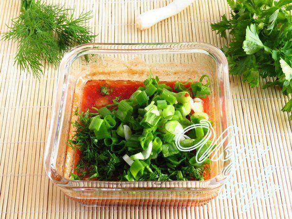Соус для шашлыка из томатной пасты и зелени рецепт с пошагово в
