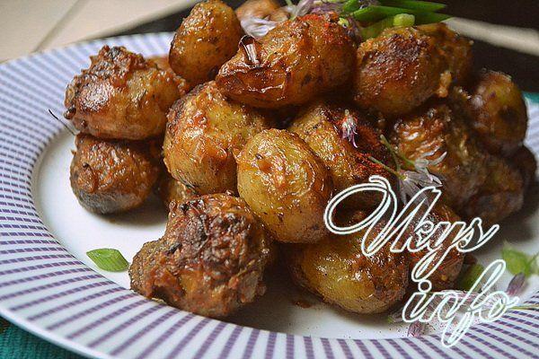 картофель в фольге в духовке рецепт с фото