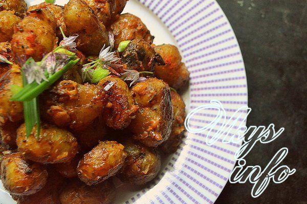 Запеченная молодая картошка в духовке рецепт с фото