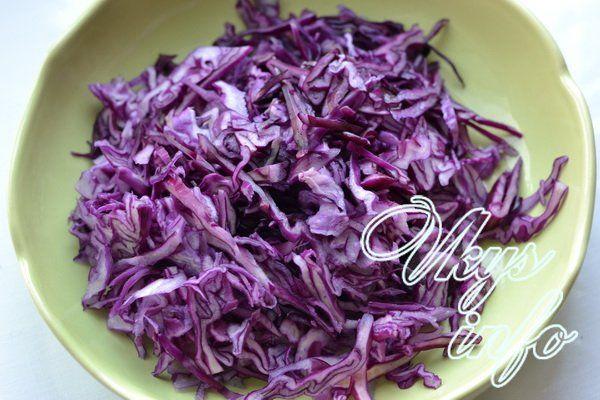 salat iz krasnokochannoj kapusty s kukuruzoj 3