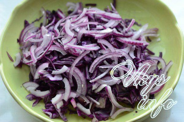 salat iz krasnokochannoj kapusty s kukuruzoj 6