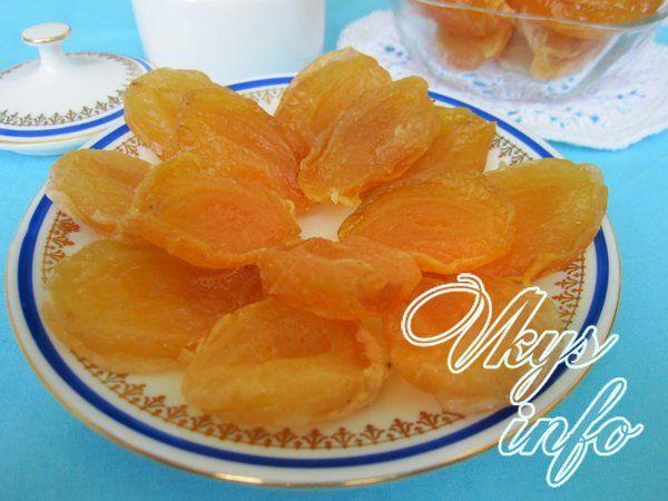 Цукаты из абрикос в домашних условиях