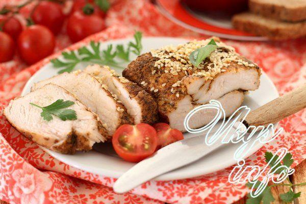 филе куриное рецепты на сковороде быстро с фото