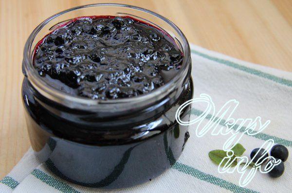 Варенье из черники простой рецепт