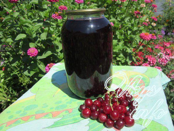 Как приготовить сок из вишни в домашних условиях 804