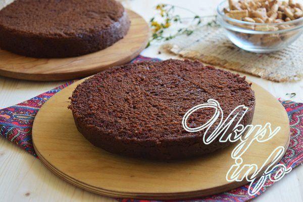 Торт сникерс в мультиварке
