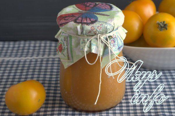 аджика из желтых помидор на зиму рецепты с фото