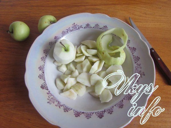 рис с яблоками в духовке рецепт с фото пошагово